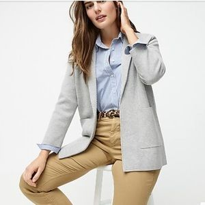J. Crew Sophie Open-Front Sweater-Blazer Size XS